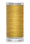 100 meter garen - Super Sterk Gütermann garen goudkleur 968