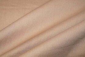 Boerenbont stoffen - NB 5569-053 Katoen uni camel