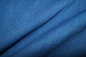 Katoen Tricot - KN 0626-052 Tricot denim medium blue