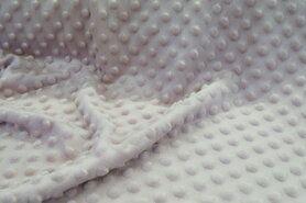 Voeren van een kledingstuk stoffen - NB 3347-011 Fur Niply lichtroze (minky stof)