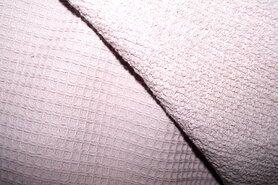 Handdoek stoffen - KN 0184-820 Wafelbadstof oudroze