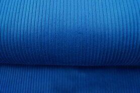 Ribcord en velvet - NB 3044-006 Ribcord jeansblauw