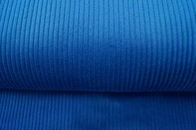 Tas - NB 3044-006 Ribcord grof jeansblauw