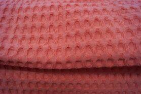 Wafelkatoen - KN 0700-536 Wafelkatoen grof koraal