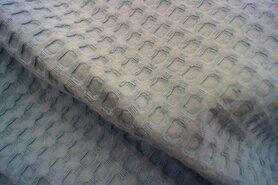 Wafelkatoen - KN 0700-630 Wafelkatoen grof lichtblauw