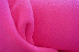 Felroze - NB 9113-017 Fleece neon roze