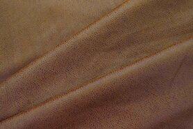 Kunstleder und Suedine - KN17/18 0541-150 Unique leather dunkel terra
