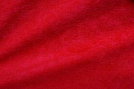 Kunstleder und Suedine - NB 8800-015 Suedine rot