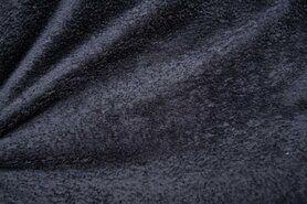 Fleece stoffen - NB 5358-068 Fleece ultra soft donkergrijs