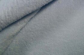 Fleece stoffen - NB 5358-002 Fleece ultra soft heel lichtblauw