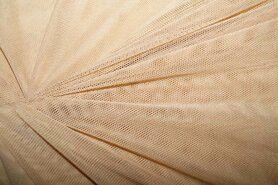 Polyester stof - KN 0695-090 Mesh huidskleur