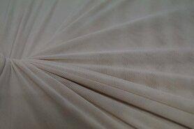 Polyester stof - KN 0695-170 Mesh lichtbeige
