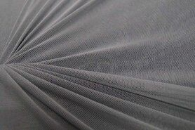 Polyester stof - KN 0695-950 Mesh grijs