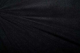 Polyester stof - KN 0695-999 Mesh zwart