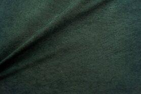Kunstleer en suedine - NB 8800-028 Suedine donkergroen
