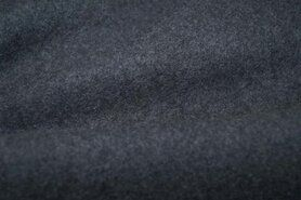 Fleece stoffen - OR8001-068 Organic cotton fleece grey melange