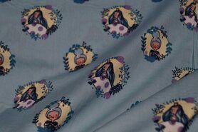 Luftige - NB17/18 3243-022 Baumwolle Prinzess im Kreis hell aqua