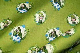 Luftige - NB17/18 3243-023 Baumwolle Prinzess im Kreis apfelgrün