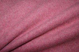 Bodywarmer - OR8001-019 Fleece Baumwolle extra soft bordeaux melange