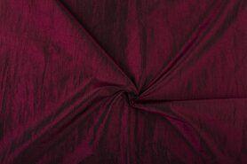 Sjaal - NB 5516-018 Taftzijde donker bordeaux