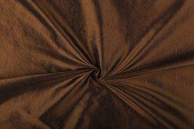Taftseidenstoffe - NB 5516-056 Taftseide braun