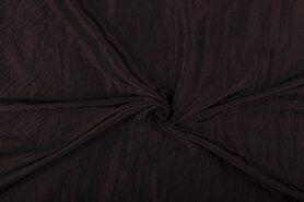 Taftseidenstoffe - Taftseide dunkelbraun (etwas Knitter) NB 5516-58
