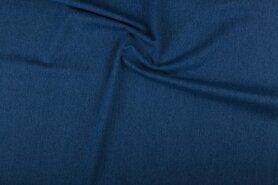 Spijkerstoffen - NB 0400-003 Jeans blauw
