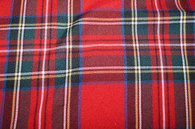 Karierter Stoff - NB 5192-015 Scottish check rot