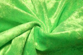 Karnevalsstoffe - 4400-42 Velours de panne fluor grün