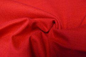 Linnen stof - KN 0591-425 Stretch linnen rood