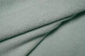 Fleece - OR8001-022 Organza cotton fleece mint