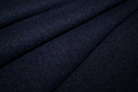 Gekookt - NB 4578-008 Gekookte wol donkerblauw