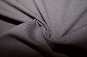 French Terry stof - NB18 10802-054 Organic French Terry taupe