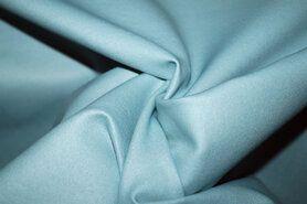 60% viscose, 35% polyamide, 5% spandex - MR1005-123 Foil Bianca rekbaar kunstleer ijsblauw