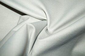 Kunstleer en suedine - MR1005-152 Foil Bianca rekbaar kunstleer kiezel