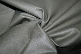 Legging - MR1005-165 Foil Bianca dehnbar Kunstleder grau