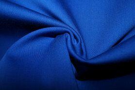 Stretch - KN 0748-650 Satin stretch kobalt