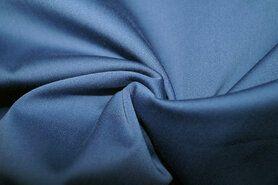 Stretch - KN 0748-695 Satin stretch jeansblauw