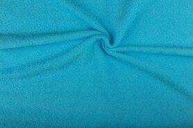 Handdoek stoffen - NB 2900-004 Badstof fris turquoise (dubbel gelust)