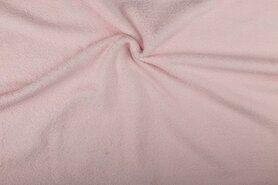 Handdoek stoffen - NB 2900-012 Badstof licht oudroze (dubbel gelust)