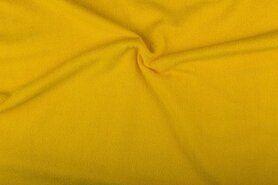 Badstof - NB 2900-035 Badstof geel (dubbel gelust)