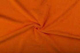 Badstof - NB 2900-036 Badstof oranje (dubbel gelust)