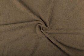 Handdoek stoffen - NB 2900-053 Badstof beige-taupe (dubbel gelust)