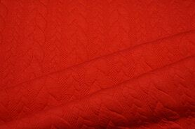 Zomer - KN 13423-426 Tricot kabel rood