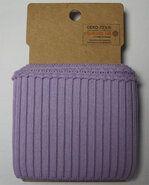 Paars - NB 10499-043 boord / manchet grof lila