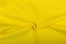 Deken - NB 2902-034 Wafelkatoen iets zachter geel