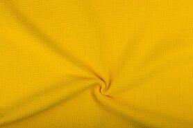Aanbieding wafelkatoen - NB 2902-035 Wafelkatoen warm geel