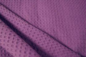 Waffelbaumwolle - NB 2902-45 Waffelbaumwolle violett