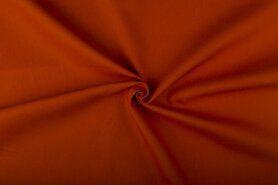 Meubelstoffen - NB 4795-136 Canvas oranje