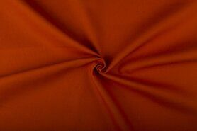 Oranje meubelstoffen - NB 4795-136 Canvas oranje